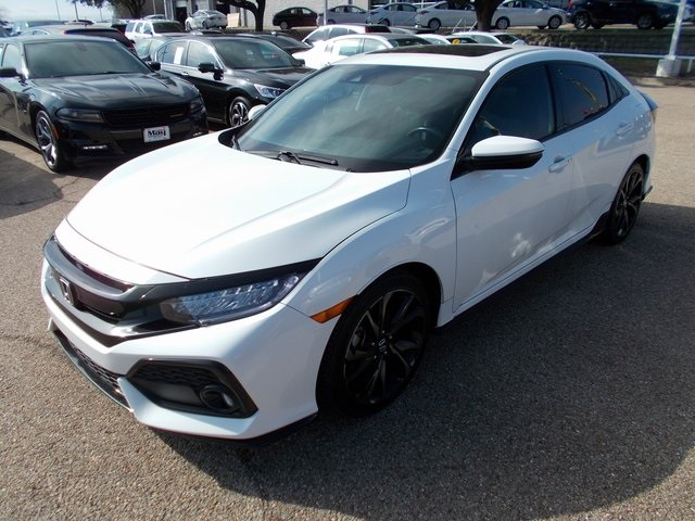 Pre-Owned 2017 Honda Civic Sport Touring
