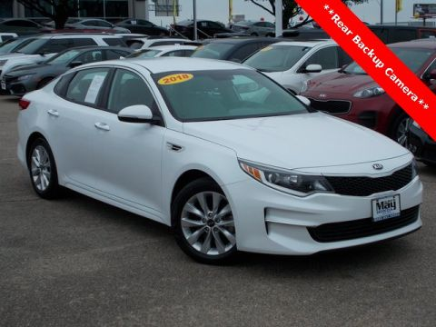 Pre-Owned 2018 Kia Optima LX FWD 4D Sedan